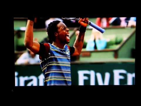 Tennis Channel Gasquet, Monfils, Simon, Tsonga French Open Segment