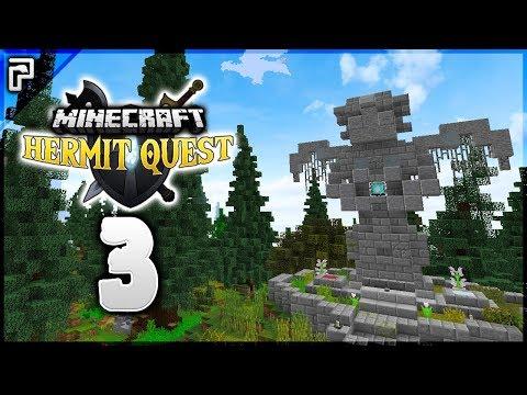 ⚔️ Resurrecting Team Mates?! Questing! | Minecraft Hermit Quest [#3]
