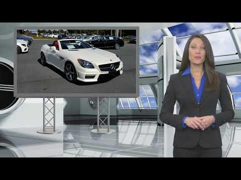 Certified 2015 Mercedes-Benz SLK-Class SLK 55 AMG, East Petersburg, PA MB9070A