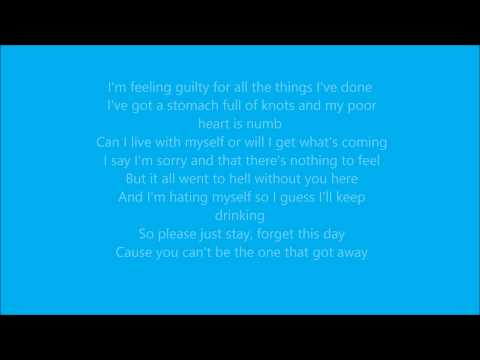 Theory of a deadman what was i thinking lyrics