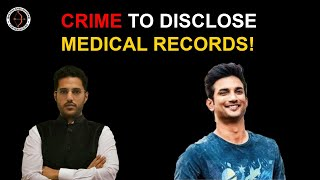 Crime to disclose Mental Health of Sushant Singh Rajput!