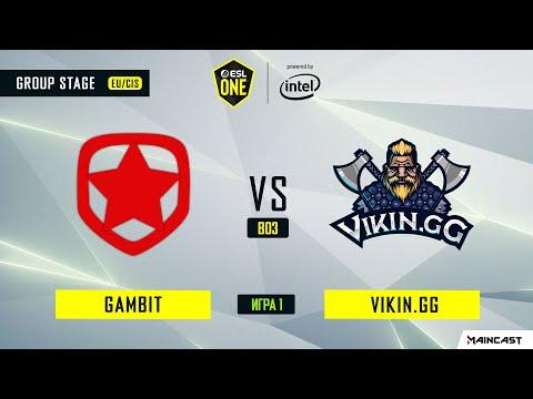 Gambit Esports vs ViKin.gg vod