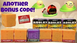 Roblox Toys, Blind Boxes Series 5, Celebrity 3 & Bonus Chaser Code