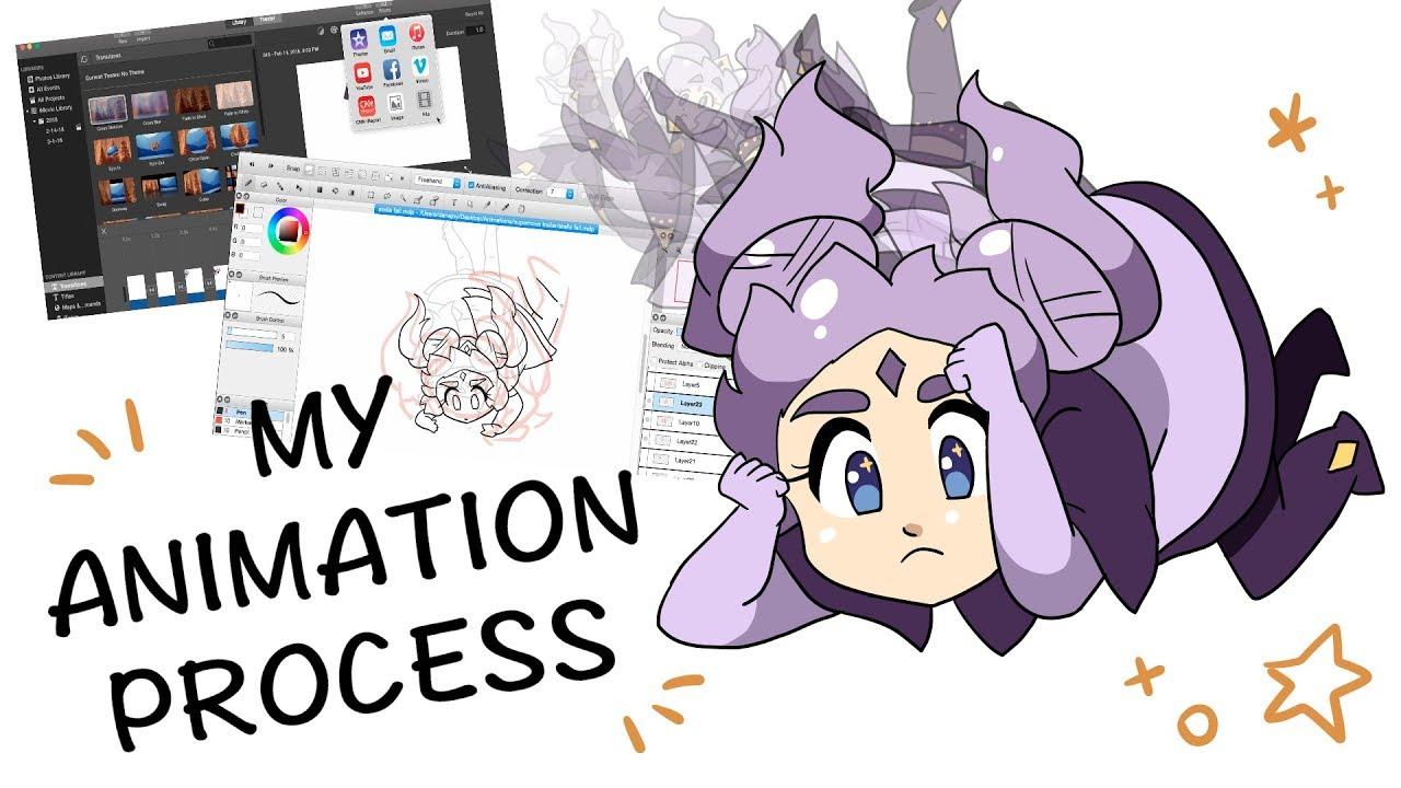 🌟 How I Animate w/ FireAlpaca & iMovie 🌟