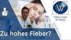 Fieber behandeln & wegbekommen: Was ist Fieber? Wie entsteht hohe Körpertemperatur bei Erkältung? 🤔