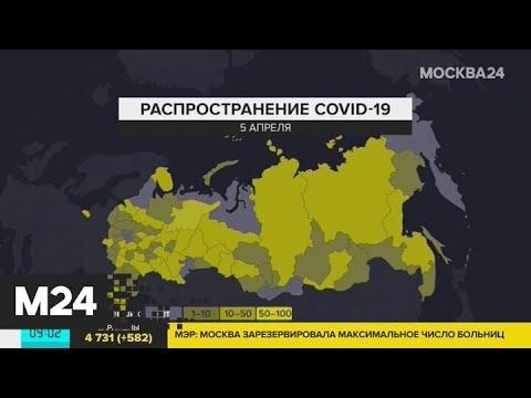 Первые случаи заражения COVID-19 зарегистрировали на Камчатке - Москва 24