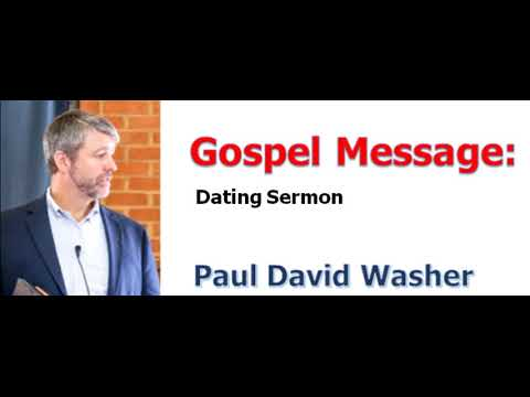 sermon about dating