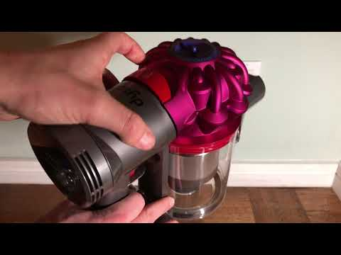 How to Empty the Bin of a Dyson V7 Vacuum