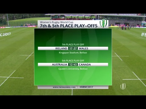 Women's Rugby World Cup - Australia v Canada - Live