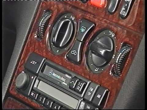 werbefilm mercedes benz die neue e klasse w210 aus 1995. Black Bedroom Furniture Sets. Home Design Ideas