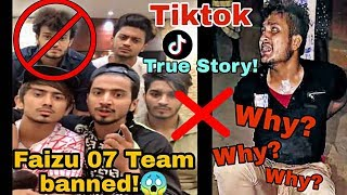 Faizu 07 Team Banned Arrested? | True Story | Tiktok | Tabrez ansari | Faizu Song Deleted