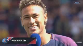 Buổi ra mắt của Neymar tại PSG !!!