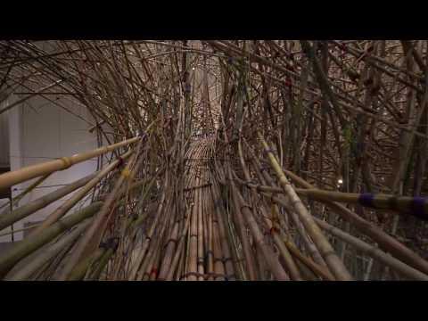 Mike + Doug Starn : Big Bambu Entire Walkthrough MFAH