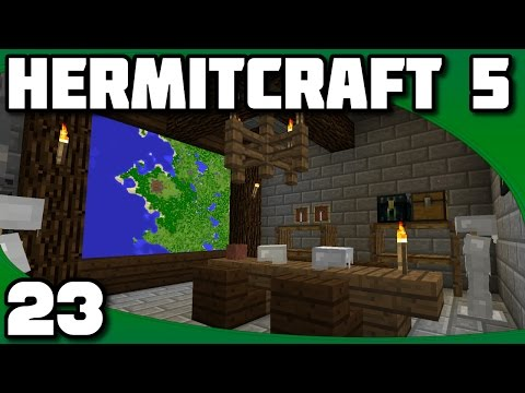 Hermitcraft 5 - Ep. 23: War Room & Meeting With Bdubs!