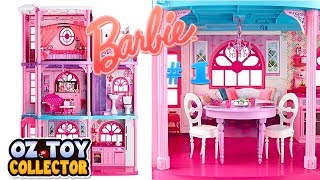 Barbie Life In The Dream House  Dreamhouse Doll House Barbie Toys Unboxing Part 1