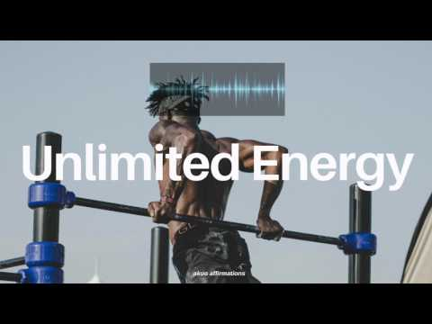 Unlimited Energy & Super Fast Recovery Subliminal