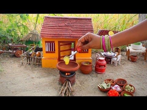 Miniature Chicken Biryani | Chicken Biryani Recipe | Avengers | Miniature Cooking #39 | Mini Foodkey