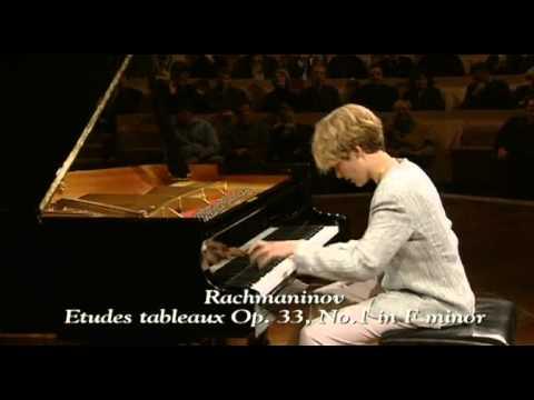 Helene Grimaud - Rachmaninov - Etudes tableaux Op. 33 N° 2, 1