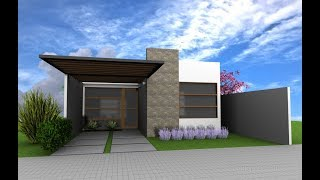 Ideas de casas para construir en terreno pequeño
