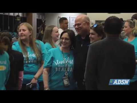 Carolina Panthers make impact in Charlotte community with assistance to CMS schools | #Panthers