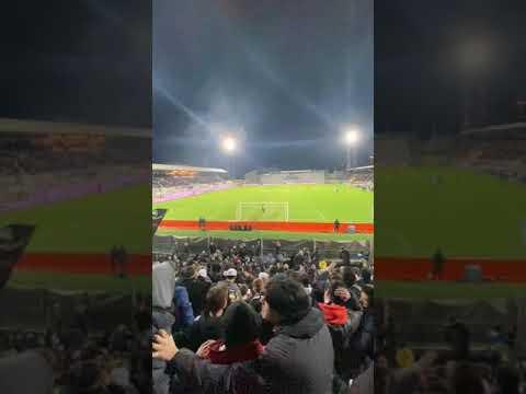 Spezia-Ascoli 3-1 15/02/20 Gol di Gyasi Curva Ferrovia