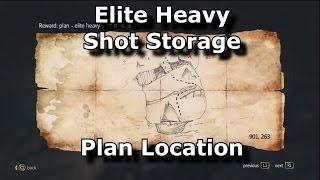 Black Flag Elite Heavy Shot Storage Location