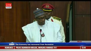 'The World Is Watching' Buhari Tells Lawmakers Booing Him
