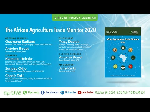 The African Agriculture Trade Monitor 2020