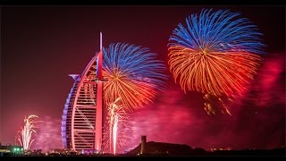 [NEW] Dubai New Year Fireworks, Burj Al-Arab 2016 (HD)