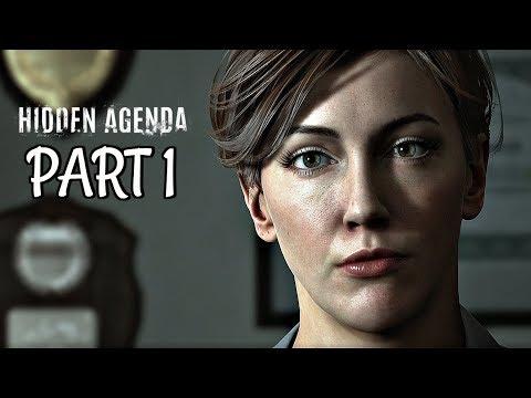 Hidden Agenda Walkthrough Part 1 - Katie Cassidy Intro | PS4 Pro Gameplay