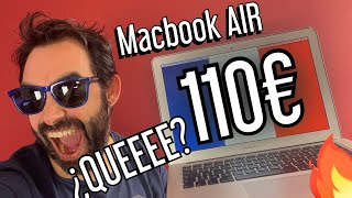 MACBOOK AIR SUPER BARATO (110€) + CAMBIO DE TECLADO