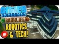 Cities Skylines Parklife - ROBOTICS & TECH AREA! #33 Cities Skylines Parklife DLC
