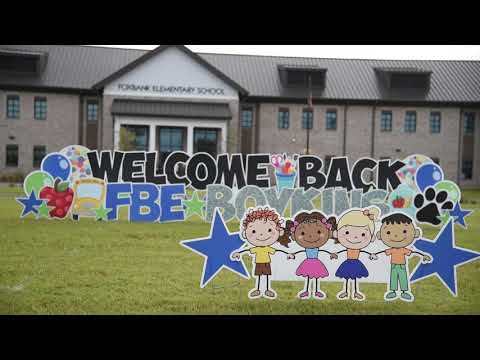 Foxbank Elementary staff welcomes back students