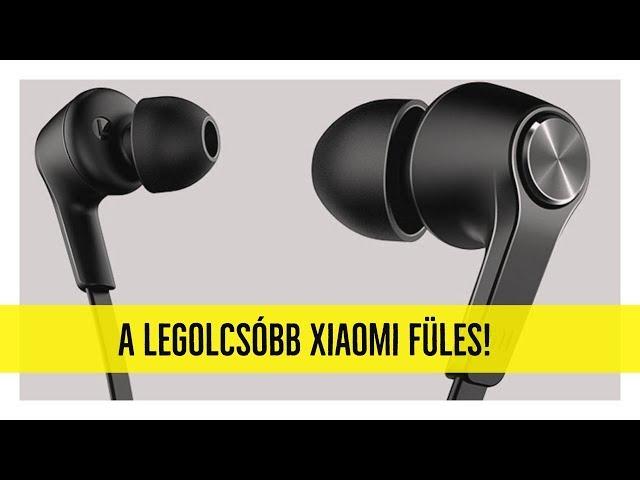 Kipróbáltuk a legolcsóbb Xiaomi fülest!