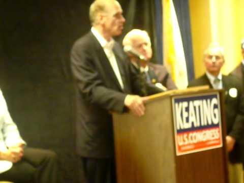Bill Keating w/Vicki Kennedy and Bill Delahunt