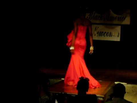 Miss Black America New in evening gown Mhale