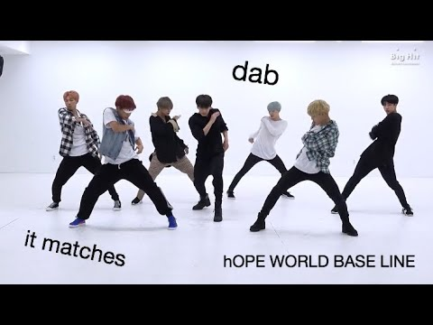 proof that base line matches with all dances/choreos