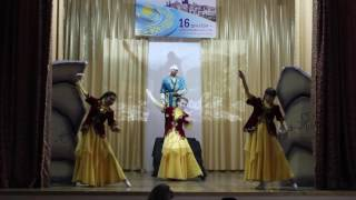Спектакль студентов КГУ ИТК-2, Степногорск, посвященный 25-летию Независимости РК
