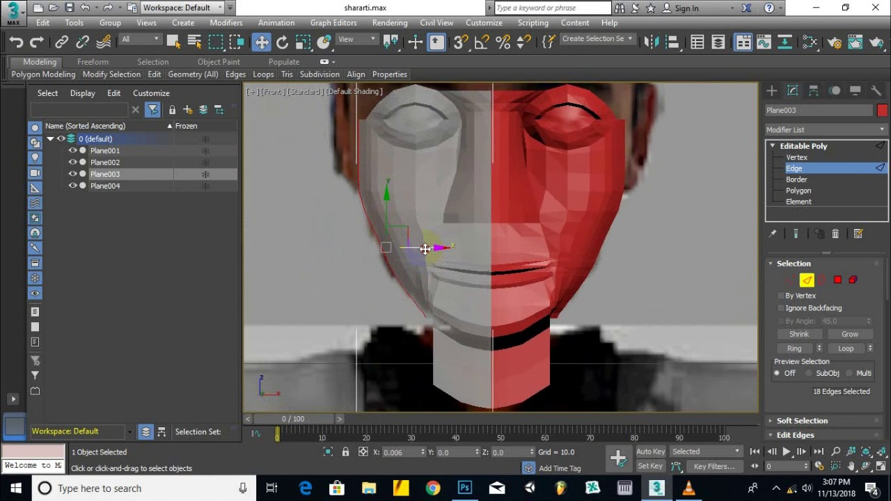 Part 02 - Speed Modeling Character in 3ds Max | Character Modeling 3ds Max in hindi / urdu