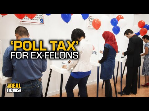Florida Wants To Reinstate A 'Poll Tax' For Ex-Felons