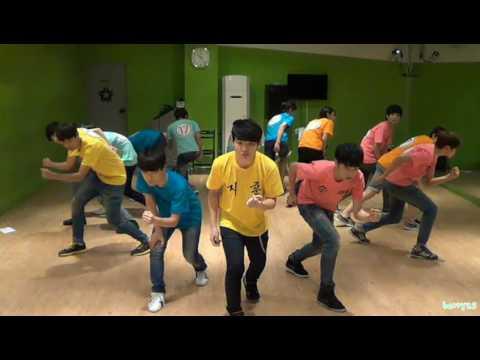 130716 SEVENTEEN TV Rehearsal Action NU'EST