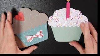 Stamping T! - Cupcake Card