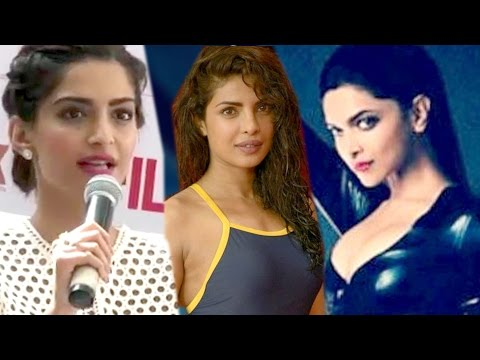 Sonam Kapoor TAUNTS Deepika Padukone & Priyanka Chopra - Hollywood Debut