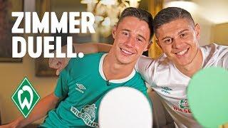 Zimmerduell - Marco Friedl & Milot Rashica | SV Werder Bremen