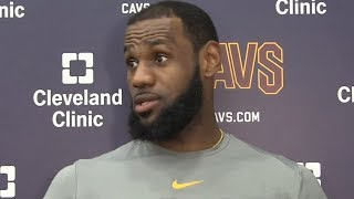 LeBron James on upcoming Game 3 against the Celtics