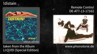!distain - LI:QUID (Special Edition) - Remote Control [DE-AT7-13-17162]
