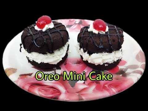 Mini Oreo Cake Recipe/Super Tasty Mini Oreo Cakes Without Oven