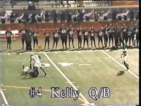 Marlon Kelly #4 krop football