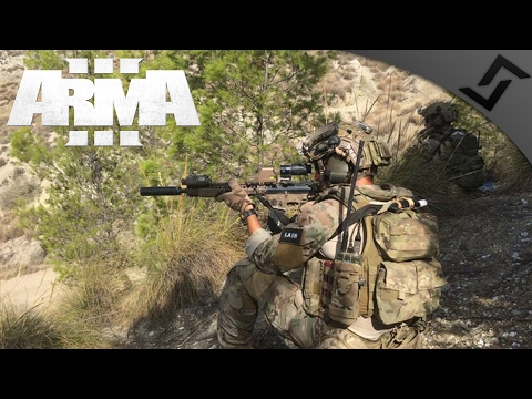 Long Range DMR Spotter - ARMA 3 - 3rd Ranger Battalion Main Op Gameplay - 1st Person Gameplay
