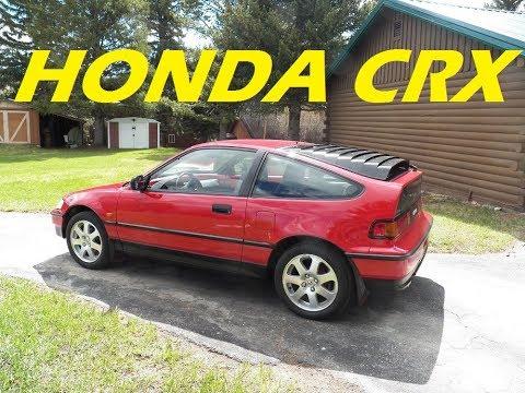Amazing Frame-Off Restoration of 1990 Honda CRX